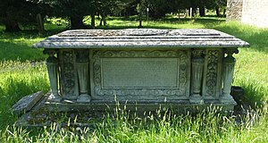 Henry de Worms, 1st Baron Pirbright - Lord Pirbright's tomb at St Mark's Church, Wyke, Surrey