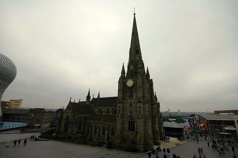 File:St Martins from the Bullring 2009.JPG
