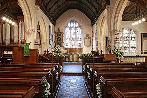 St Mary the Virgin, Monken Hadley - Interior of St Mary's Church