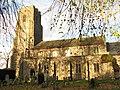 St Mary Magdalene's church in low November sunshine - geograph.org.uk - 1594078.jpg
