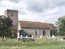 St Matthew, Warehorne (south side) - geograph.org.uk - 935442.jpg