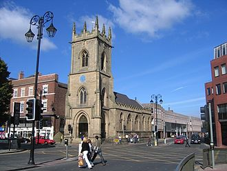 Grade II listed buildings in Chester (central) - Image: St Michael's, Chester 2