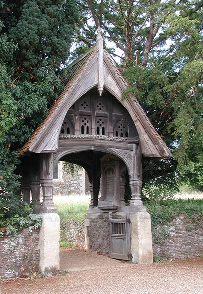File:St Peter and St Paul, West Newton, Norfolk - Lychgate - geograph.org.uk - 309155.jpg