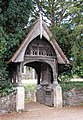 St Peter and St Paul, West Newton, Norfolk - Lychgate - geograph.org.uk - 309155.jpg