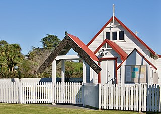 Maketu Town in Bay of Plenty, New Zealand