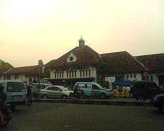 Jatinegara - Jatinegara Station, gateway to Jatinegara.