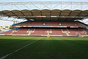 Stade du Pays de Charleroi - Stade du Pays de Charleroi in 2011m prior to reconstruction