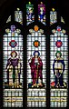 Stained glass window, St Lawrence church, Hawkhurst (15289479445).jpg