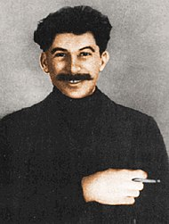 Stalin in exile 1915 Colour.jpg
