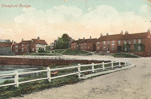 Stamford Bridge, The Square from southwest c.1913 (archive ref PO-1-133-5) (25160921101)