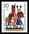 Stamps of Germany (BRD) 1970, MiNr 613.jpg