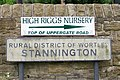 Stannington Signs - 1 - geograph.org.uk - 972382.jpg