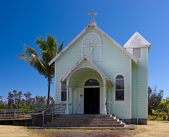 File Star Of The Sea Painted Church Big Island Exterior
