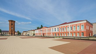 Staraya Russa - Cathedral Square in Staraya Russa