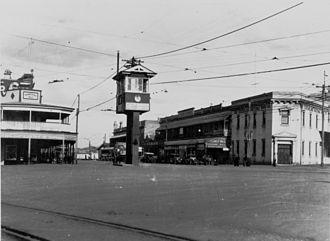 Woolloongabba - Gabba Fiveways, 1929