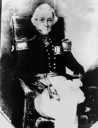 Mary Putland - Sir Maurice Charles O'Connell, second husband, circa 1840