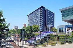 Station Nijmegen Heyendaal met rechts Technovium.jpg