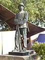 Statue of Military man - Mohatta Palace.jpg