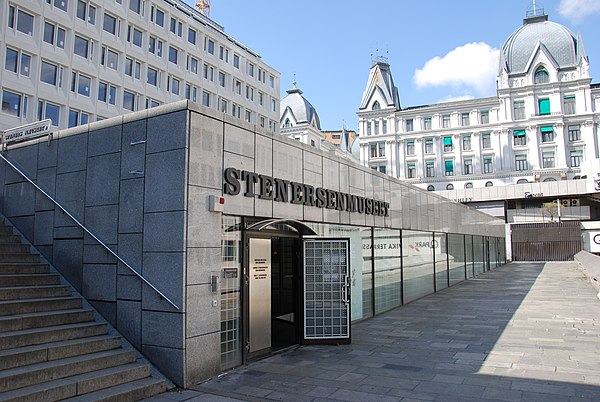 Entrance to the Stenersen Museum Stenersenmuseet Oslo 01.jpg