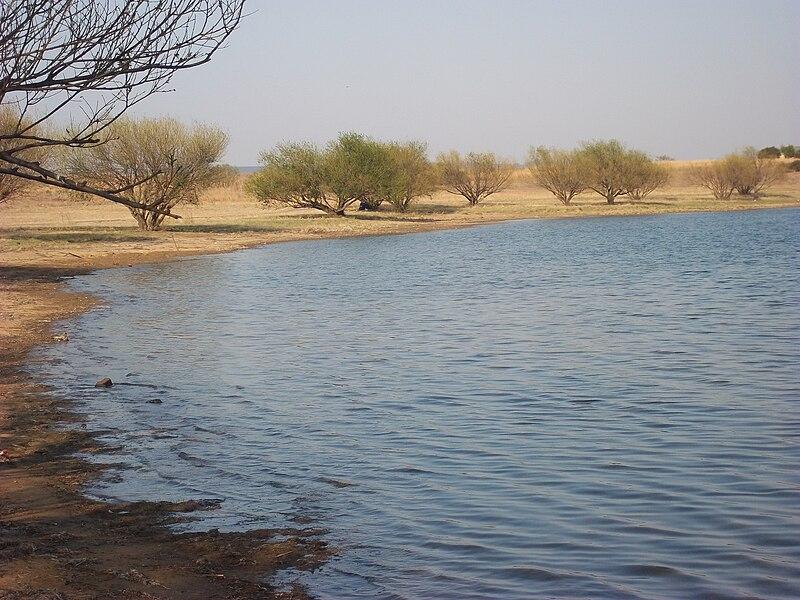 800px-Sterkfontein_Dam_camping_area.JPG
