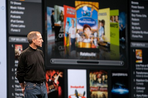 Steve Jobs about iTunes Movie Rental