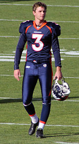 Hauschka during his tenure with the Denver Broncos 616efd6e1