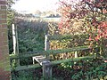 Stile and footpath into the Dane valley - geograph.org.uk - 2696999.jpg