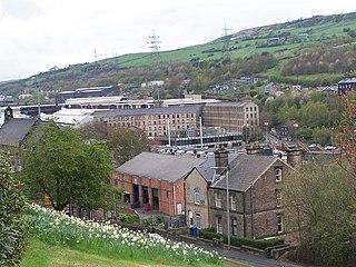 Stocksbridge Town and civil parish in South Yorkshire, England