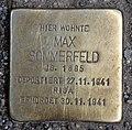 Stolperstein Friedrichstr 105 (Mitte) Max Sommerfeld.jpg