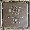 Stolperstein Hugo Pins Coesfelderstr 43.jpg
