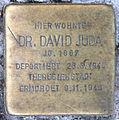 Stolperstein Konstanzer Str 6 (Wilmd) David Juda.jpg