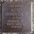 Stolperstein Lauenau Marktstraße 12 Alfred Hammerschlag.jpg