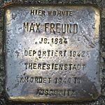 Stolperstein Radebeul Max Freund.JPG