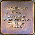 Stolperstein Salzburg, Martin Gay (Dreifaltigkeitsgasse 3).jpg