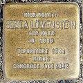 Stolperstein Verden - Senta Löwenstein (1910).jpg