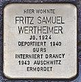 Stolperstein für Fritz Samuel Wertheimer (Heidelberg).jpg