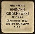 Stolperstein für Hermann Konschewski (Cottbus).jpg