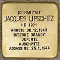 Stolperstein für Jacques Lipschitz (Libourne).jpg