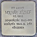 Stolperstein für Jozsef Molnar (Budapest).jpg