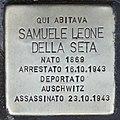 Stolperstein für Samuele Leone della Seta (Rom).jpg