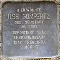 Stolpersteine Krefeld, Ilse Gompertz (Uerdinger Straße 412).jpg
