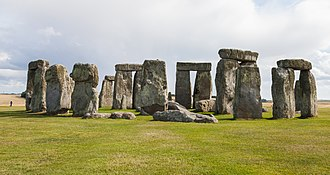 United Kingdom - Stonehenge, in Wiltshire, was erected around 2500 BC