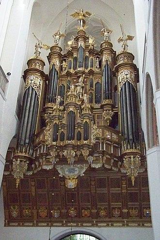 Friederich Stellwagen - The Stellwagen organ in the Marienkirche in Stralsund