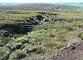 Stream channel, West Nab Moss, Meltham - geograph.org.uk - 1356194.jpg