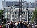Street Scene - Nyezalyezhnastsi Avenue - Minsk - Belarus (26937038704).jpg
