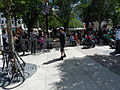 Street performers at Winston Churchill Square in Edmonton 04.JPG