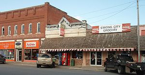 Strong City, Kansas - Hardware Store and Grocery in Strong City (2009)