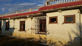 Kumari, Nepal - Damage to the polyclinic
