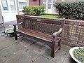 Summerfield Hospital WVS bench - 2021-01-13 - Andy Mabbett - 02.jpg