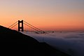 Sun Francisco and Golden Gate Bridge at sunrise.jpg